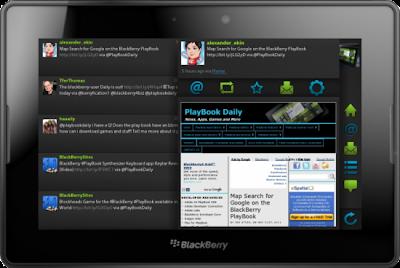 Blaq es la mejor aplicación para Twitter en la BlackBerry PlayBook se actualiza a la versión 1.8.7 la cual esta disponible para su descarga en BlackBerry World. Está aplicación cuenta con nuevas mejoras en está versión: Soporte para la API 1.1 de Twitter Corregidos problemas de autenticación por cambios en Twitter Corrección de errores Mejorado el Recuento de los mensajes directos en la aplicación Para descargar está aplicación solo debes hacer click AQUI