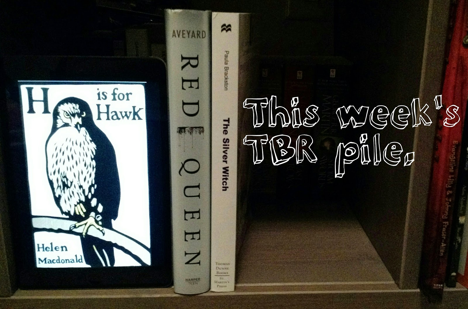 This Week, I'll Be Starting H Is For Hawk By Helen Macdonald This Memoir  Was Recommended By I've Read That, So I Have Been Really Anxious To Start  It