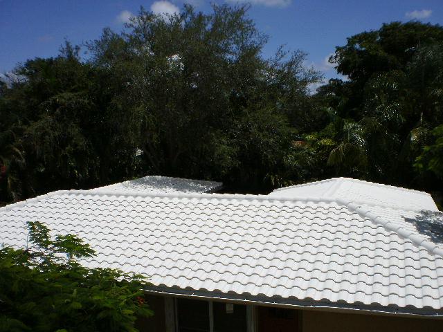 Concrete Tile Roof in Miami, Florida