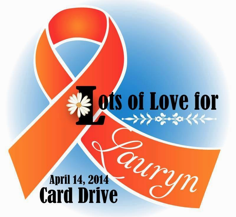 Card Drive/Blog Hop for Lauryn