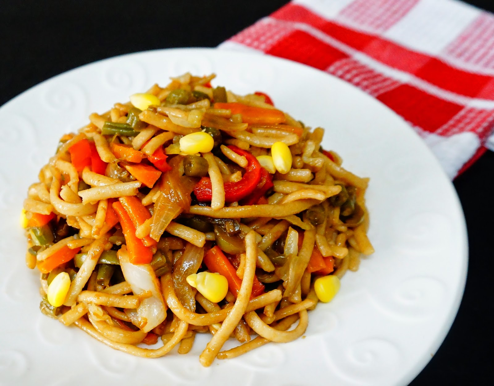 whole wheat noodles, vegetable noodles, healthy breakfast, easy breakfast,whole wheat vegetable noodles
