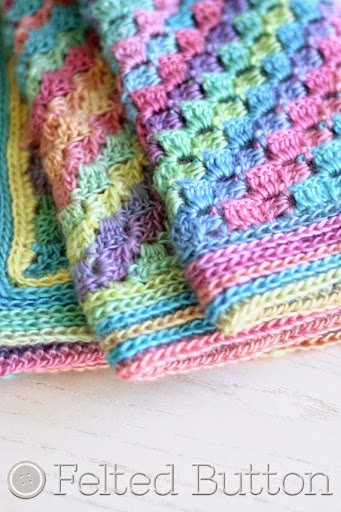 Spring into Summer Blanket Crochet Pattern by Felted Button