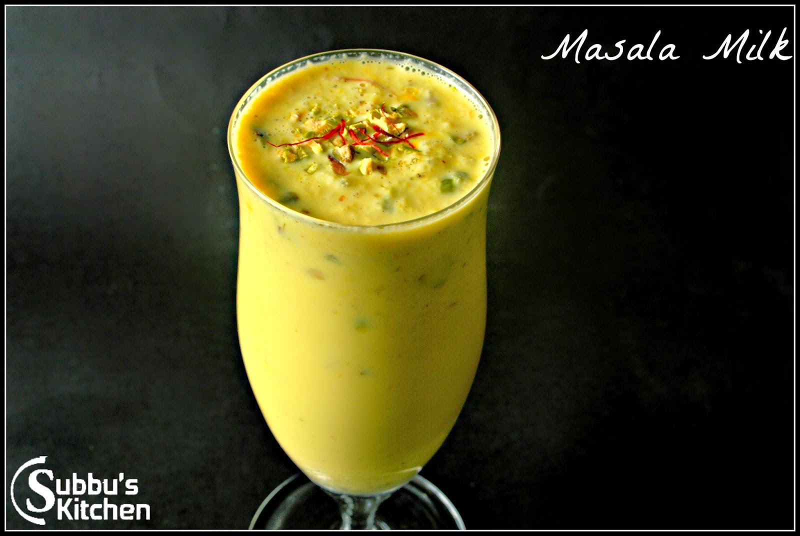 Madras Masala Paal, Masala Milk, How to prepare Masala Paal,