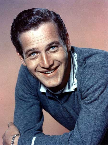 Paul Newman blue eyes