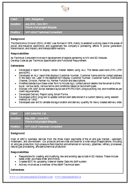 m sc computer science resume