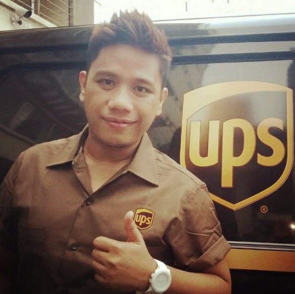 UPS Philippines, UPS Brown Ride, Mark Milan Macanas