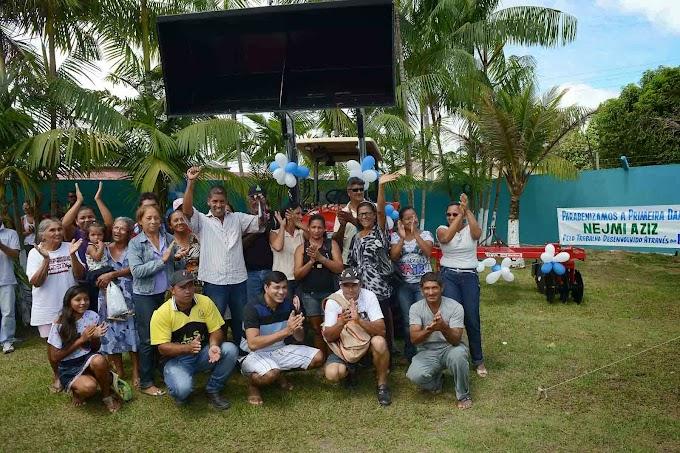 Agricultores e Apae de Rio Preto da Eva recebem benefícios