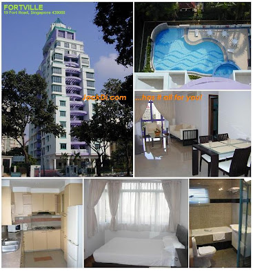 Fortville Singapore, Cheap apartment in Singapore, rent in Singapore, shortterm hotel accommodation, apartments for rent, cheap apartments in singapore