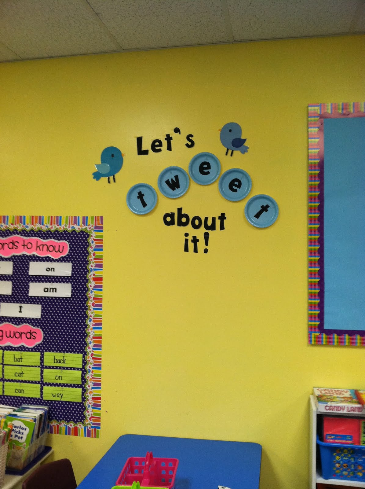 Classroom Decorating Day Four on Dr Seuss Bulletin Board Decorations