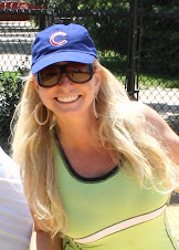 Adventure Woman Loves the Chicago Cubs