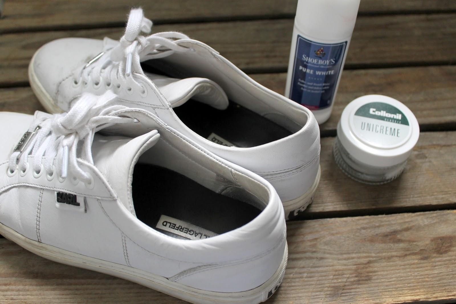 witte zool schoen schoonmaken