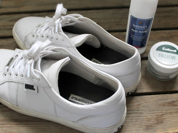 How I Clean My White Sneakers.