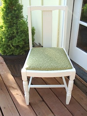How To Recover Dining Room Chairs - An Oregon Cottage