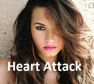 Demi Lovato Heart Attack Photoshoot 2013