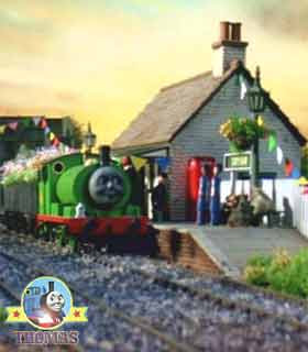 Tidmouth Thomas the tank engine Percy the green engine and the haunted mine ghostly trick gnome men