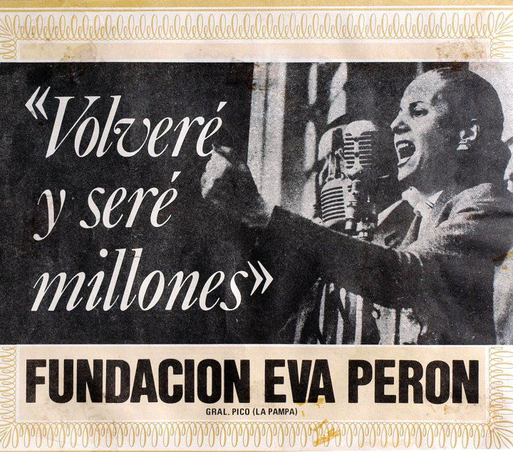 eva peron essay The eva peron is one of the most popular assignments among students' documents if you are stuck with writing or missing ideas, scroll down and find inspiration in.