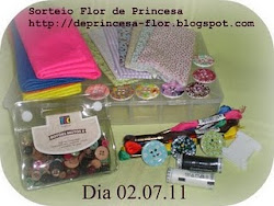 Sorteio no Blog Flor de princesa