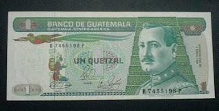 Equivalencia del quetzal