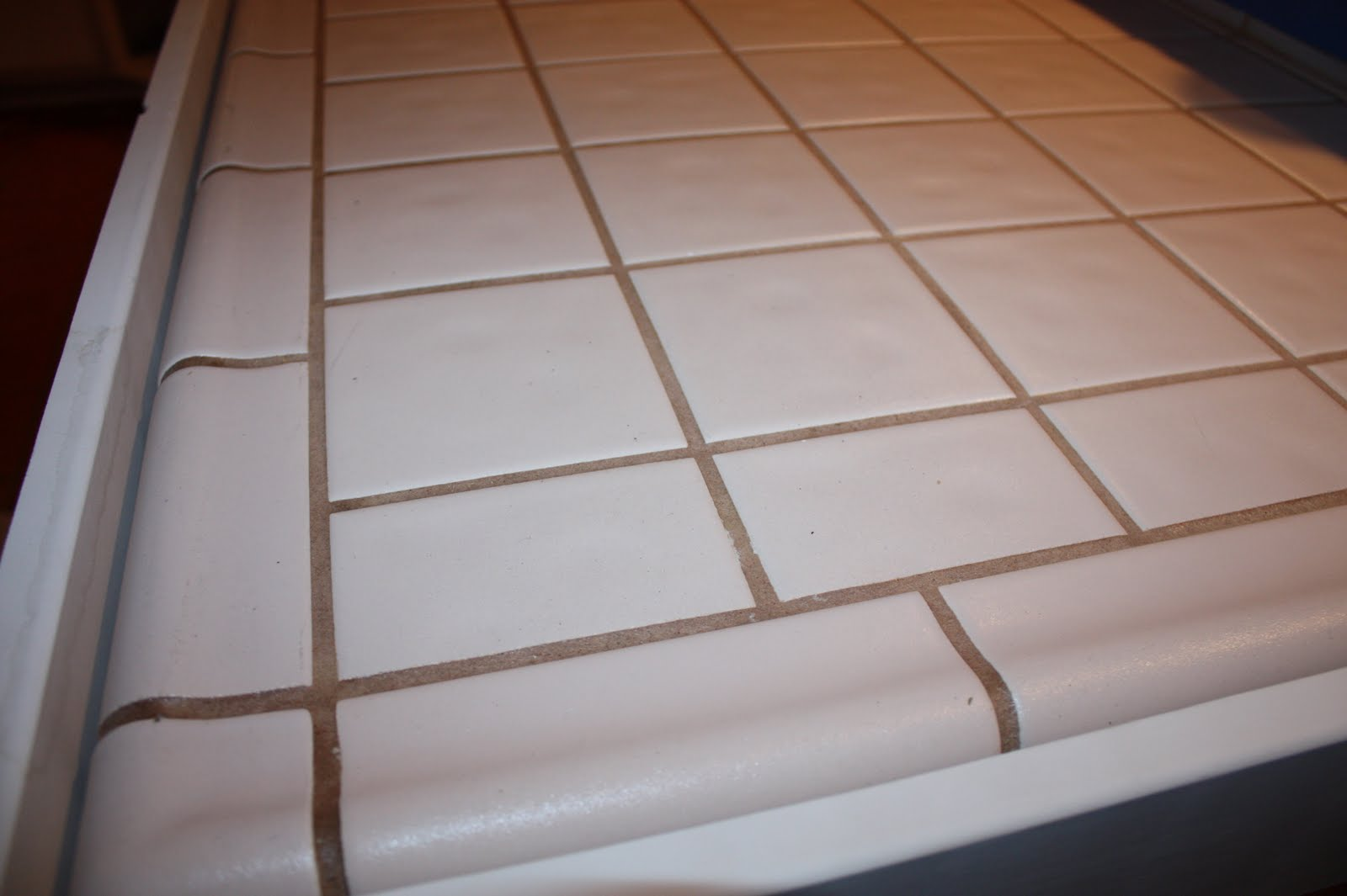 Cement Over Tile Countertops Remodelaholic Quick Install Of Concrete Countertops Kitchen