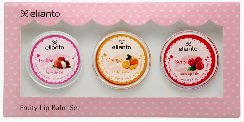 Product Review Elianto Fruity Lip Balm Set Multi Fruit