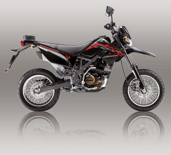 Kawasaki D Tracker 150 Merah