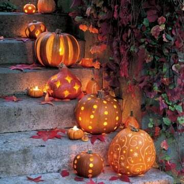 Dishfunctional designs decorating with unusual pumpkins - Deco citrouille pour halloween ...