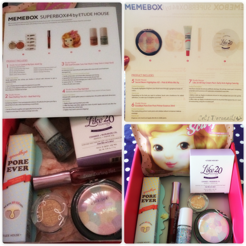 Memebox superbox #4 by Etude House