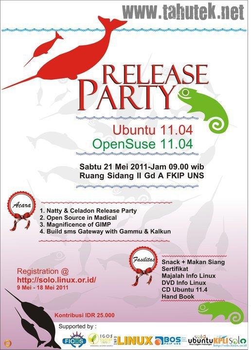 Ubuntu & OpenSuse Release Party