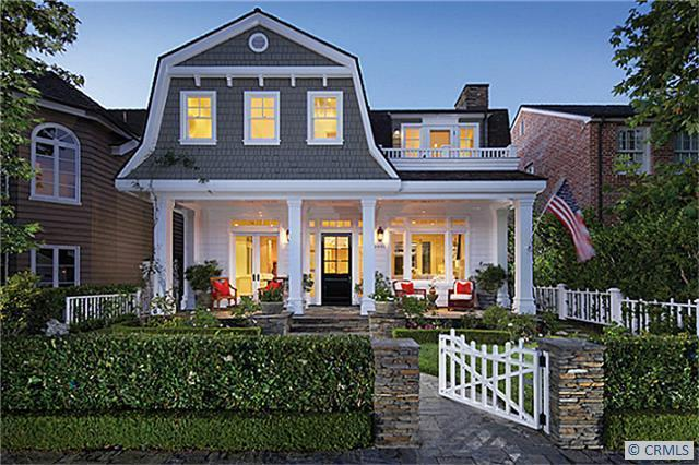 702 hollywood dutch colonial homes for Modern colonial home exterior