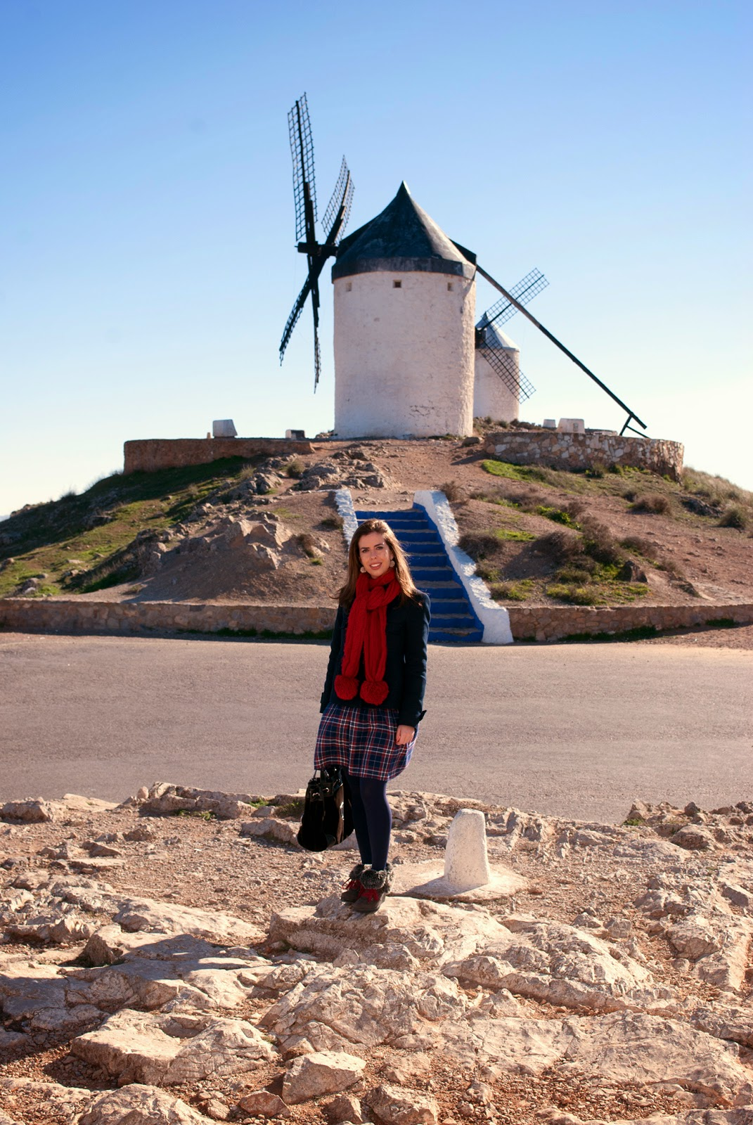 don quixote windmills near toledo spain quijote