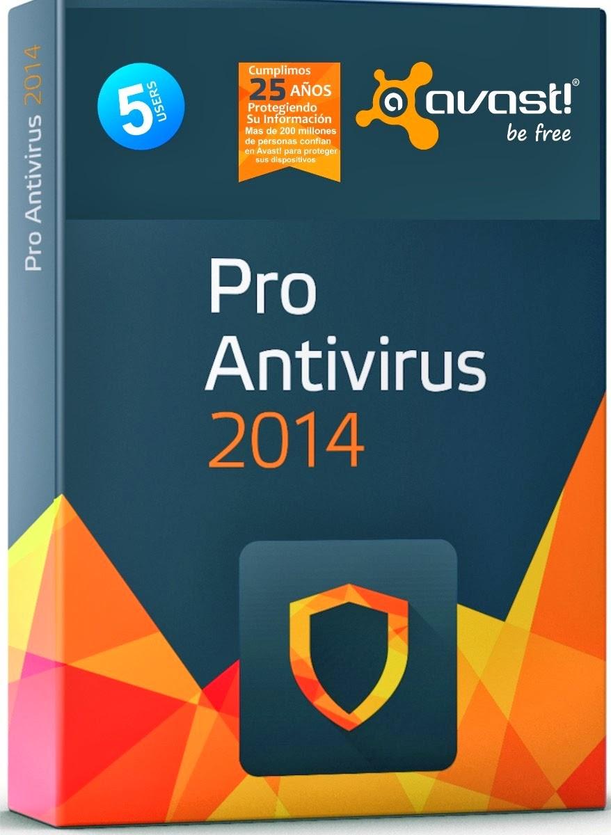 Avast Antivirus PRO 2014 v9.0.2008 2014 +Serial+keys Free Download