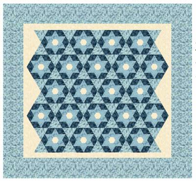Downton Abbey Starlight Quilt Design
