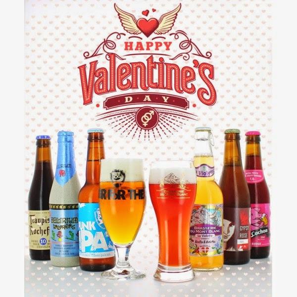 bières, st valentin, cadeau st valentin, idée st valentin