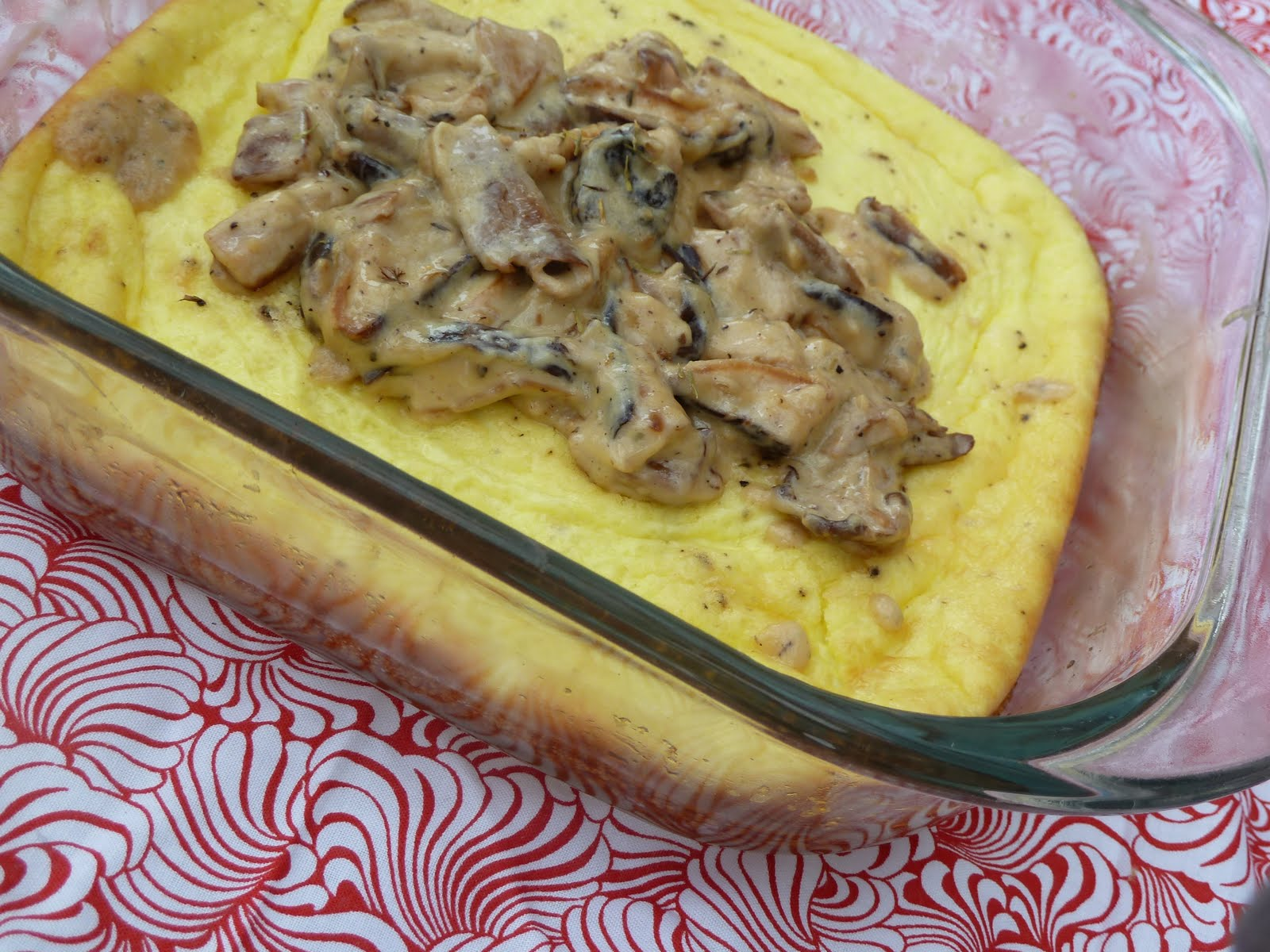 fluffig omelett i ugn