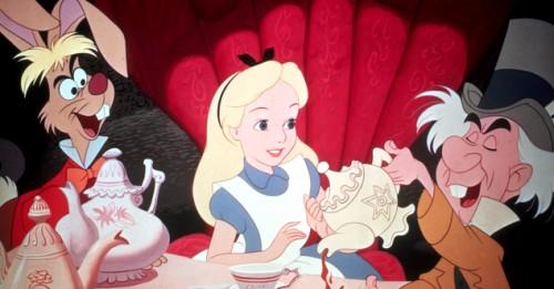 Tirinha Gordo Fresco: A verdadeira historia da Alice no país das maravilhas