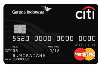kartu kredit citibank garuda indonesia