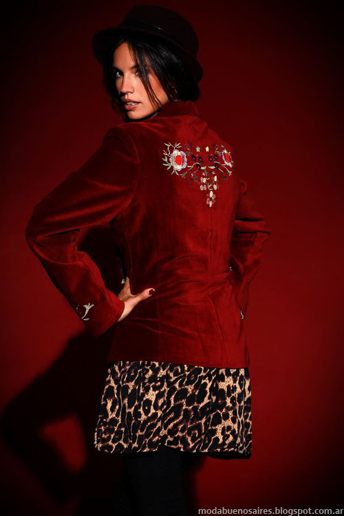 Sacos moda invierno 2013 ropa de mujer