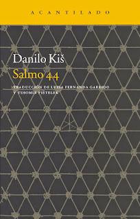 Salmo, 44, Danilo, Kis, Auschwitz, judios, biblia, novela, narrativa, acantilado