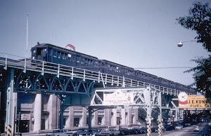 Frankford Elevated Train