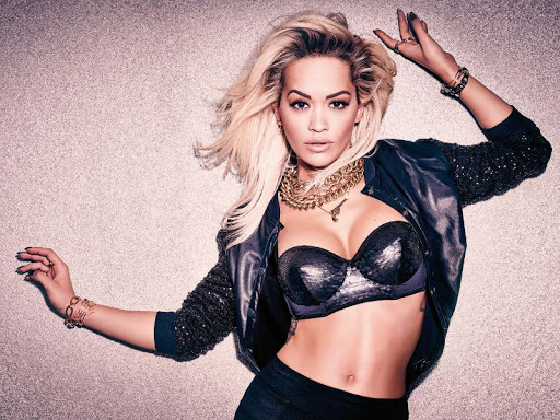 Rita Ora in sexy lingerie photo shoot for OK Magazine UK October 2015