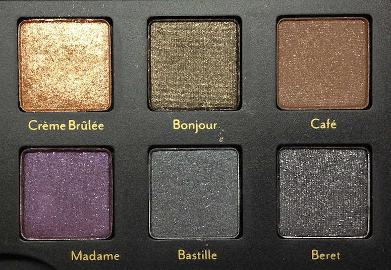 Cargo Let's Meet in Paris Palette