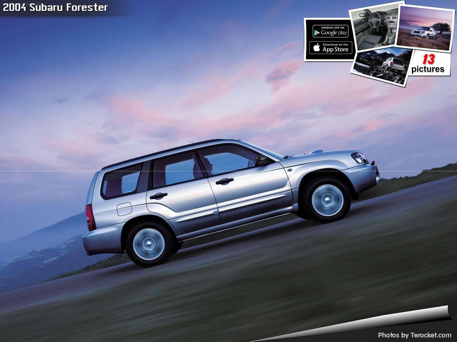 Hình ảnh xe ô tô Subaru Forester 2004 & nội ngoại thất