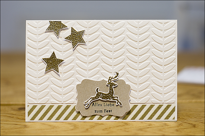 Weihnachtskarte, Christmascard
