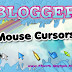 Change BLOGGEr mouse cursors