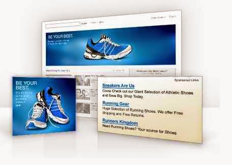 text ad advertising.