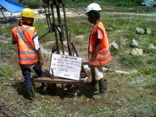 Cv Dinar Geolog Prosedur Soil Investigation Test Bor Soil Dan Sondir Test Cv Dinar Geolog