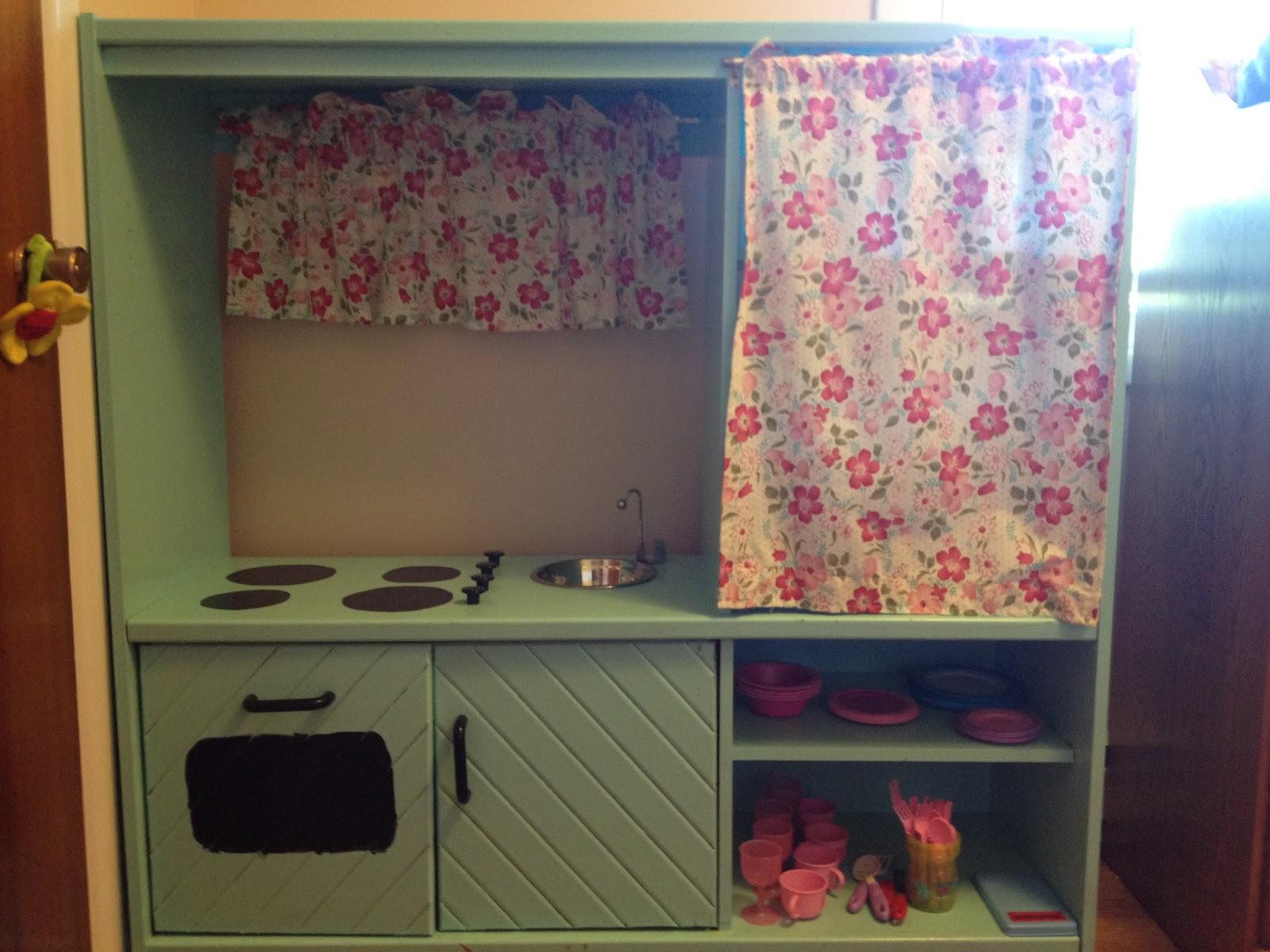 Crafty Kris Diy Play Kitchen Furniture Makeover