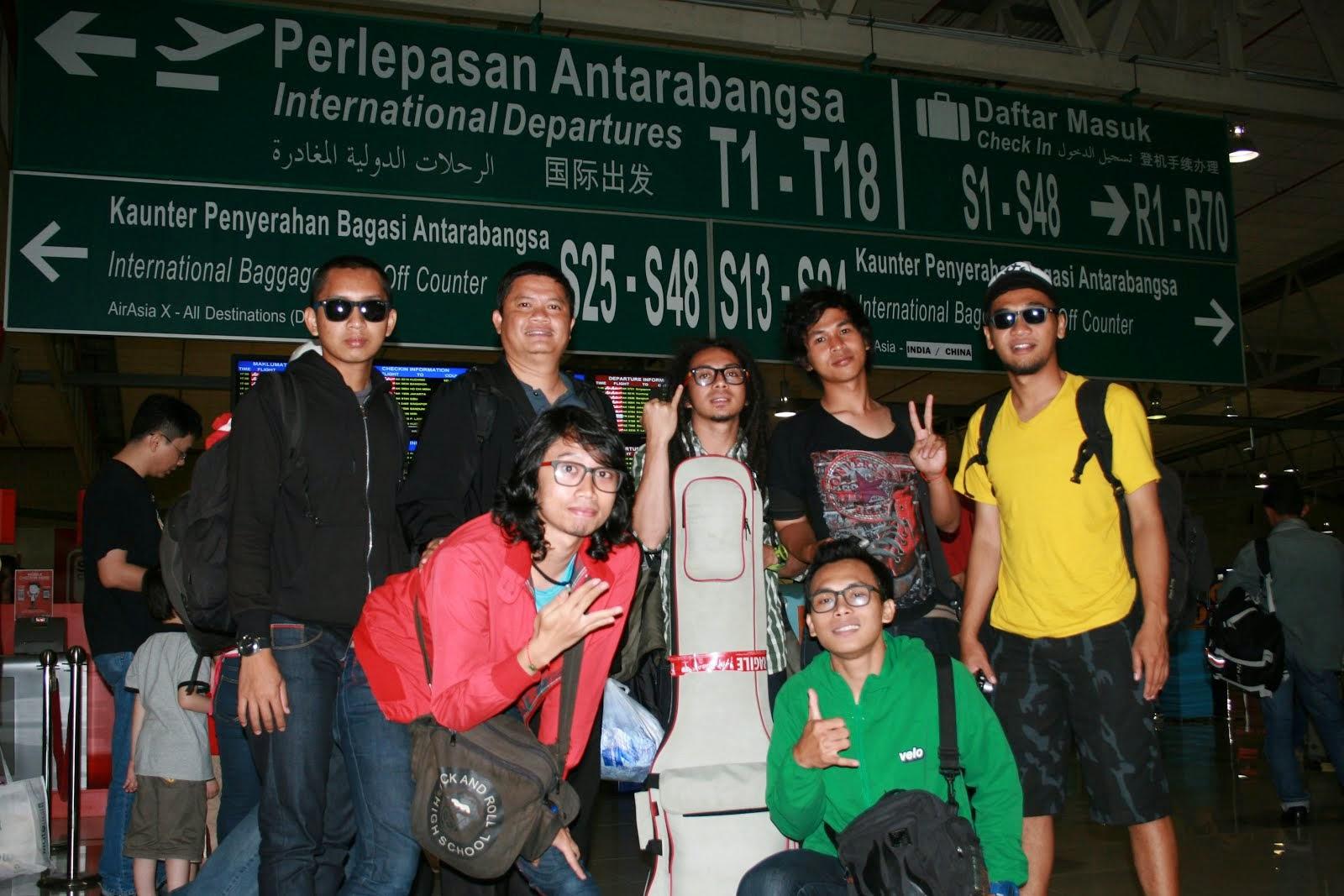 Di Bandara Internasional Kualalumpur, Malaysia. 2012