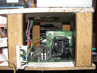 vista lateral del proyecto en ella se aprecia el procesador la ram