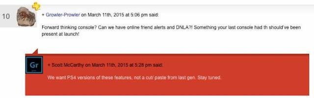 ps4 friend notification
